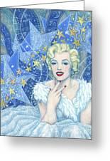 Marilyn Monroe, Old Hollywood Series Greeting Card