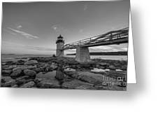 Marshall Point Lighthouse Reflections Greeting Card