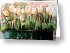 Marty's Tulips Greeting Card