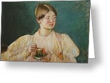 Mary Cassatt Greeting Card