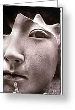 Masque 1982 Greeting Card