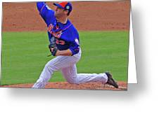 Matt Harvey Greeting Card