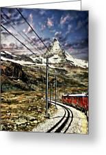 Matterhorn Panorama Greeting Card