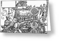 Maximilian I 1459-1519 Greeting Card