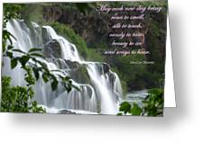 May Each New Day Bring... Greeting Card