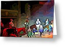 Medieval Times Dinner Theatre In Las Vegas Greeting Card