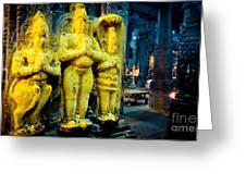 Meenakshi Temple Madurai India Greeting Card