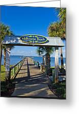 Melbourne Beach Florida Greeting Card