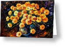 Melody Of Beauty Greeting Card