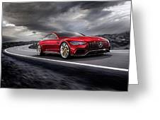Mercedes A M G   G T Greeting Card