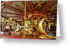 Merry Go Round Greeting Card