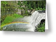 Mesa Falls Greeting Card