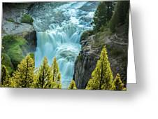 Mesa Falls - Yellowstone Greeting Card