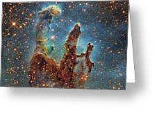 Messier 16, The Eagle Nebula In Serpens Greeting Card