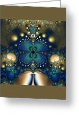 Metallic Butterfly Greeting Card