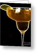 Mexico Gold . Lime Margarita Greeting Card by Wingsdomain Art and Photography