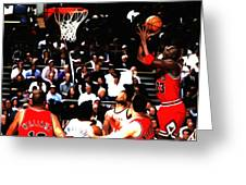 Michael Jordan Soft Touch Greeting Card