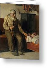 Michael Peter Ancher Greeting Card