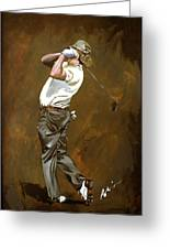Miguel Angel Jimenez Greeting Card