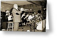 Mike Vax Professional Trumpet Player Photographic Print 3772.02 Greeting Card