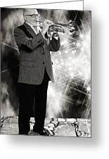 Mike Vax Professional Trumpet Player Photographic Print 3774.02 Greeting Card