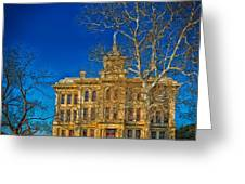 Milam County Courthouse Greeting Card