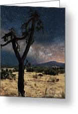 Milky Way 3 Greeting Card