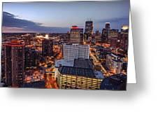 Minneapolis Nights Greeting Card