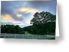 Minnesota Valley Sunset Greeting Card