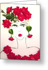 Ramblin' Rose Greeting Card