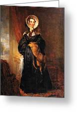 Miss Mary Kirkpatrick Brunton Greeting Card