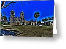 Mission Concepcion San Antonio Greeting Card