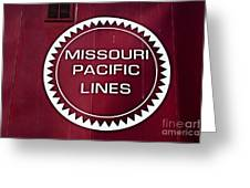 Missouri Pacific Lines Greeting Card