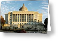 Missouri State Capital Greeting Card