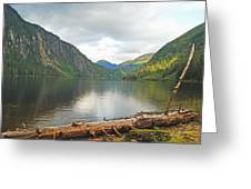 Misty Fjord Greeting Card
