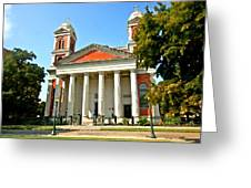 Mobile Cathedral Greeting Card