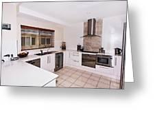 Modern Kitchen Greeting Card