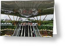 Modern Subway Station Design In Taiwan Greeting Card