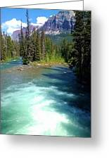 Montana River Greeting Card