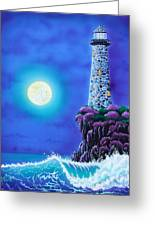 Moonlight Vigil Greeting Card