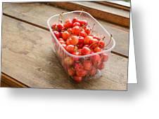 Morello Cherries Greeting Card