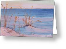 Morning Beach Greeting Card