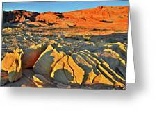 Morning Comes To Valley Of Fire Greeting Card