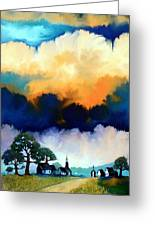 Morning In The Hill Country Greeting Card