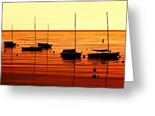Morning Over Rockport Greeting Card