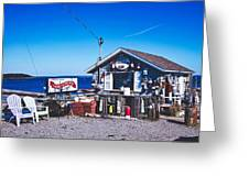 Morse Lobster Shack Greeting Card
