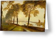 Mortlake Terrace Greeting Card