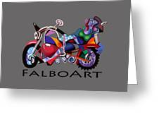 Motorcycle Mama Greeting Card