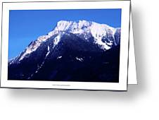 Mount Cheam 1 Greeting Card