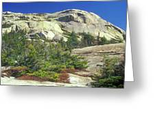 Mount Chocorua Granite Summit Greeting Card